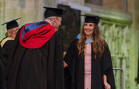 Exeter College Graduate on Track for a Bright Future