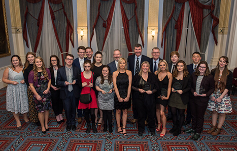 Outstanding Student Achievements Celebrated at Exeter College Awards