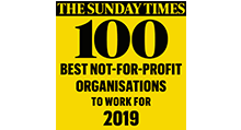 Sunday Times Top 100 Best Not For Profit Organisation To Work For 2019