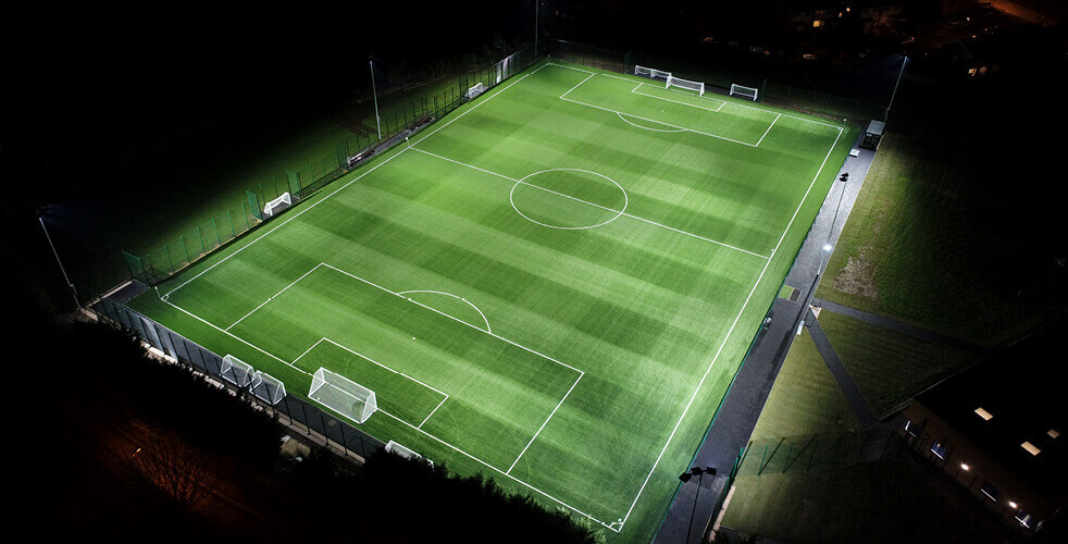 3G football pitch at Exwick Sports Pavillion