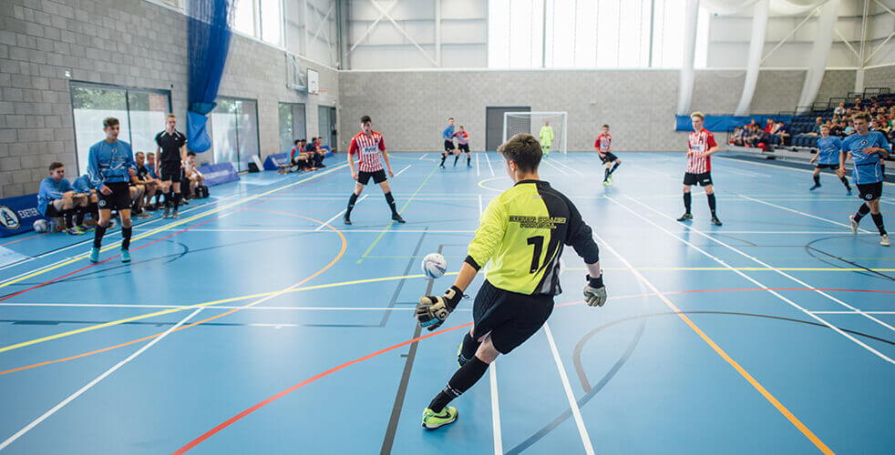 Futsal in Sports Hall off queen street