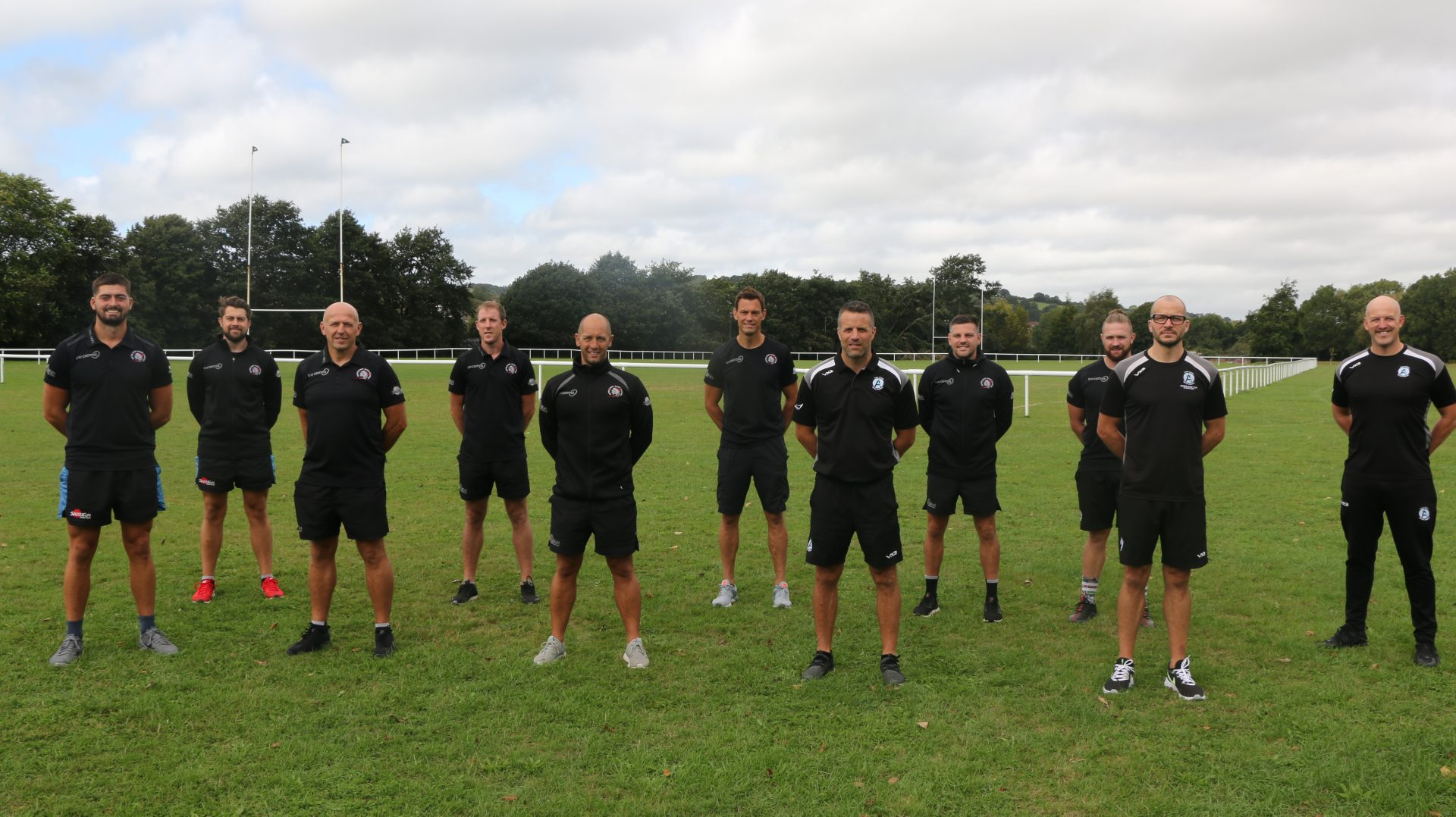 Exeter Chiefs Rugby Academy Coaching Team at Exeter College